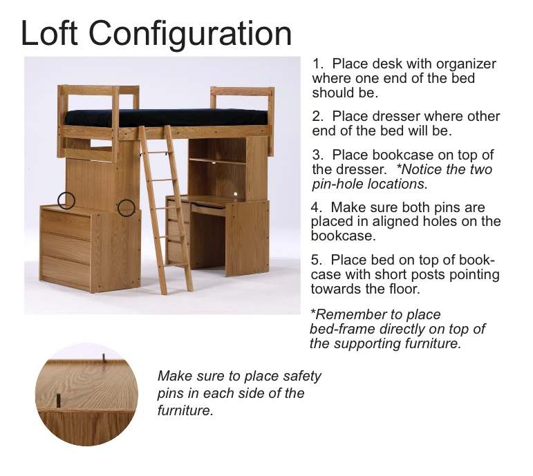 Furniture Dimensions Amp Lofting Instructions Housing